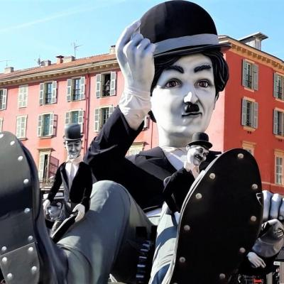 Charlot carnaval de nice 2019