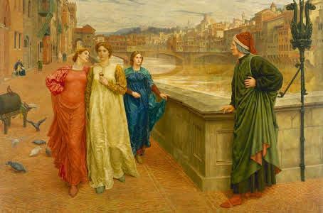 Dante et beatrice peinture h holiday