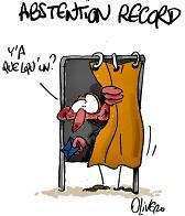 Dessin abstention record