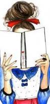 Donna che legge disegno