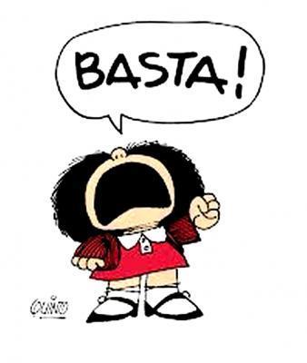 Mafalda : basta !