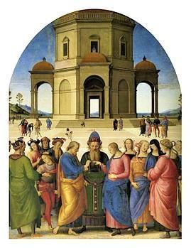 Perugino lo sposalizio