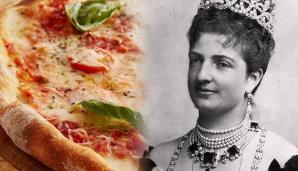 Pizza et reine marguerite