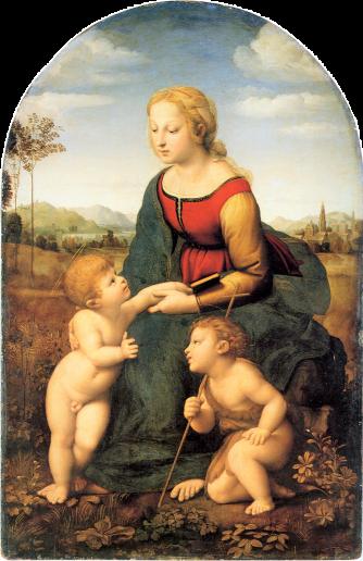 Raphael la belle jardiniere
