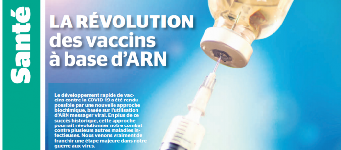 Revolution des vaccins arn